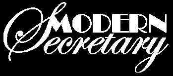 Modern Secretary Logo