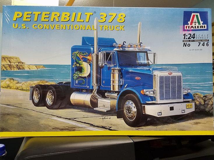 Italeri #746 Pete 378 US Conventional Truck