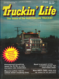 Trucking Life March 1982