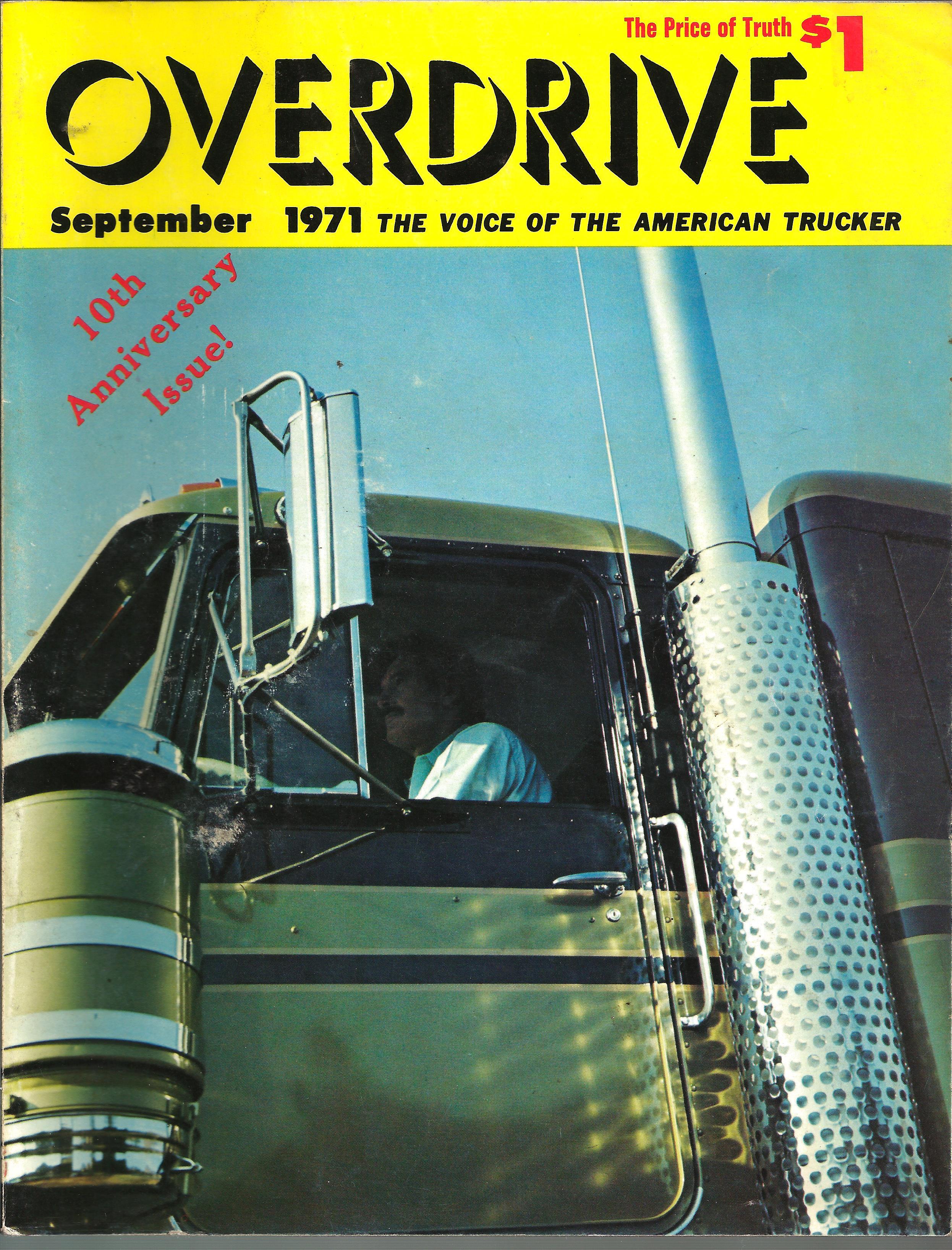 Overdrive September 1971