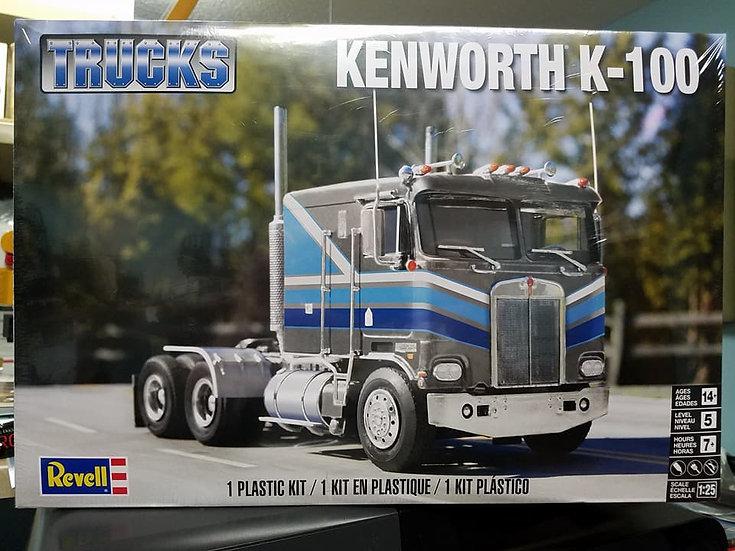 Revell #2513 - Kenworth K100; Reissued