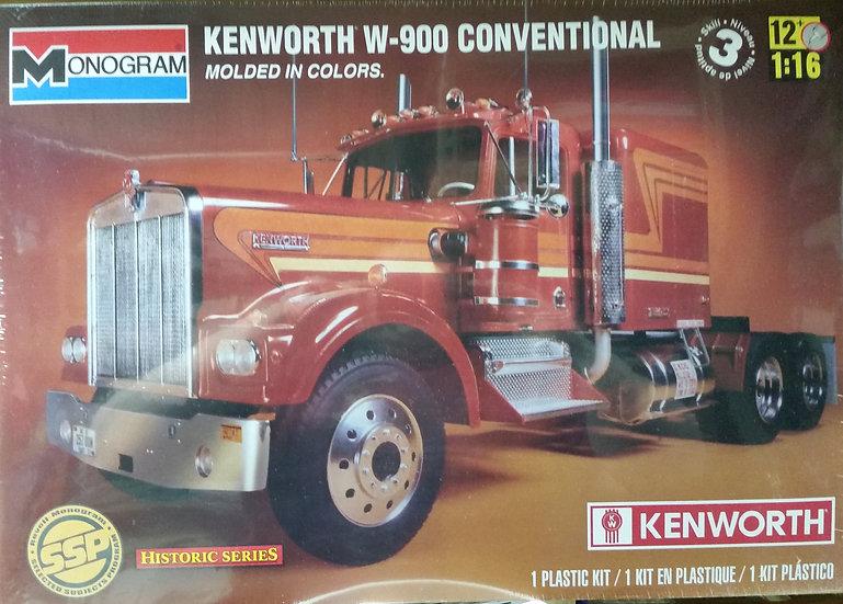 Monogram #2501 - Kenworth W900 Conventional kit