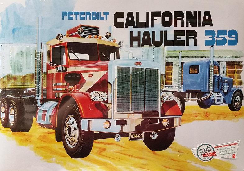 AMT #866 - Peterbilt California Hauler 359