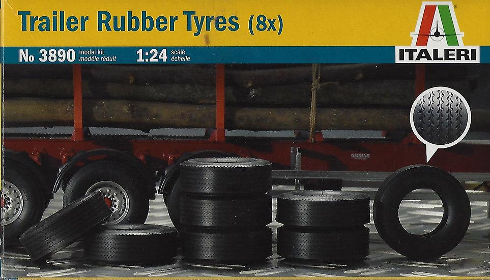 Italeri #3890 - Trailer Rubber Tyres