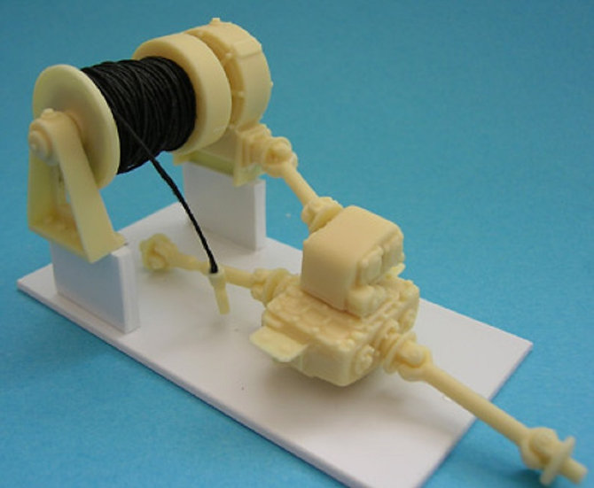 Kit Form Services TQ71 Oilfield Winch. 1/24 scale