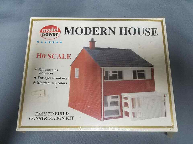 Model Power #606 Moder House. Sealed. 1/87th scale.