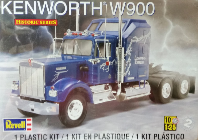 Revell #1507 - Kenworth W900 Tractor kit