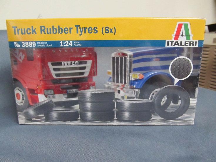 Italeri #3889 Truck Tires. 8 per set.