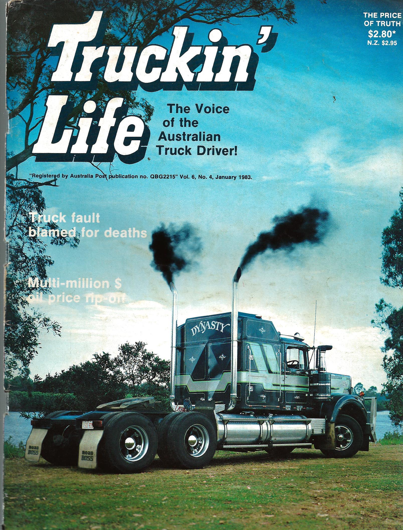 Truckin Life January 1983