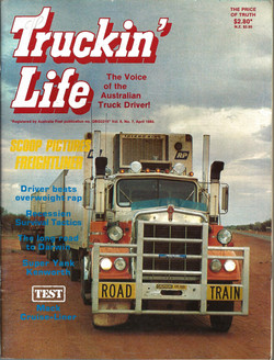 Truckin Life April 1983