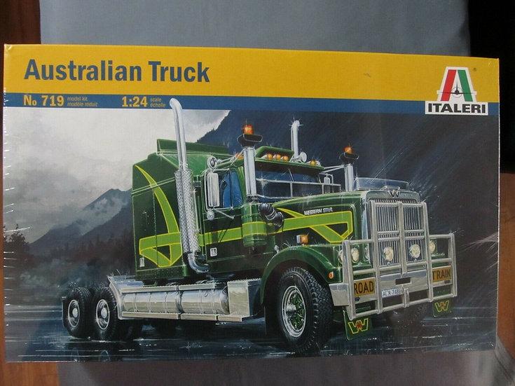 Italeri #719 Aussie Western Star with etched metal logos.