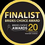 Celebrant Finalist Brides Choice Awar 2020, Western Sydney