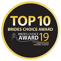 2019 WesternSydney Brides Choice Award