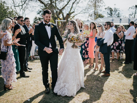 Eliza & Chris - Married at Gledswood Homestead & Winery