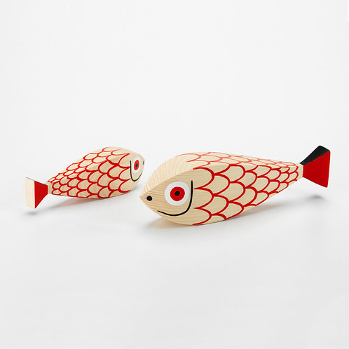VITRA Wooden Doll Mother Fish & Child