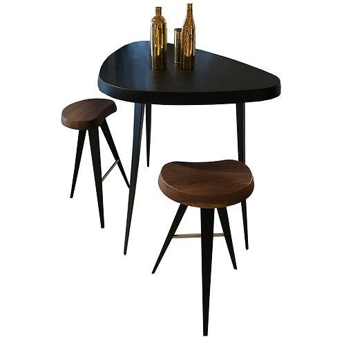 CASSINA Mexique Tisch mit zwei Barhocker