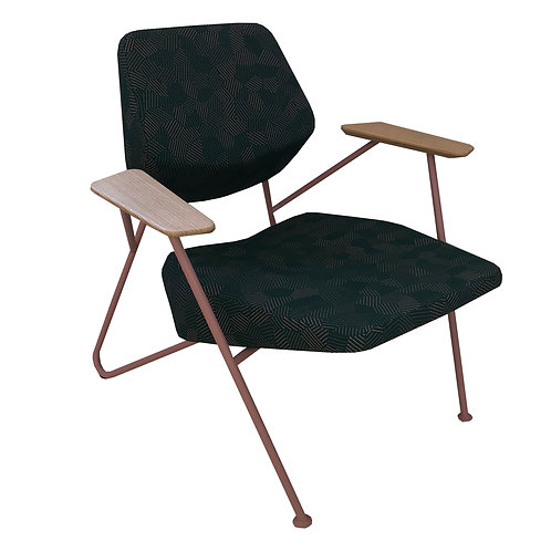 PROSTORIA Polygon Easy Chair