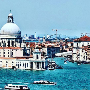 Oh Venice what a moment arriving by ship