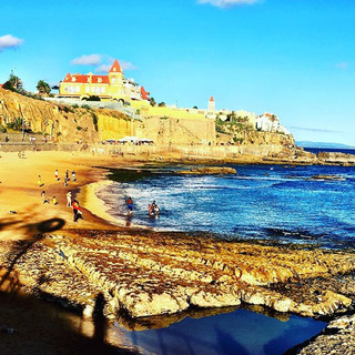 Estoril... sun going down on another day