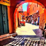 Just home from travels to Marrakech, Par