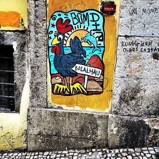 More colourful street art... no doubt a