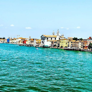 The colours of Venice mirroring the colo