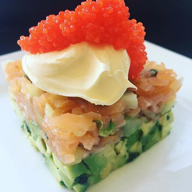 Recipe testing using smoked salmon for s