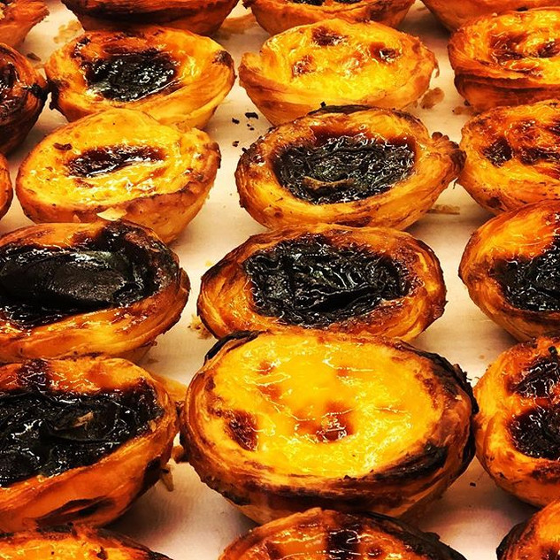 Pastel de Nata... it's a Portuguese kind