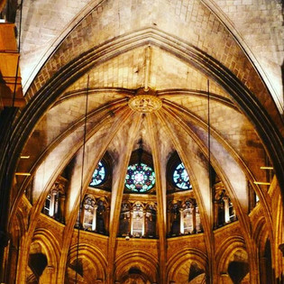 Barcelona Cathedral of Santa Eulalia...