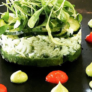 Crab and Avocado Salad #independentwoman