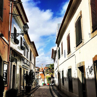 Cascais is a vibrant village of small la