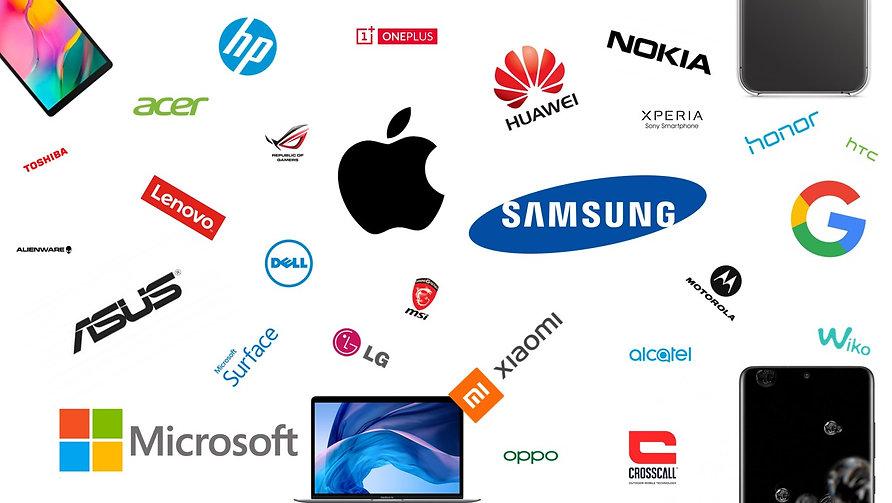 Un problème avec votre appareil ? Votre smartphone 📱, Tablette 📱, PC 💻, Mac 🖥... ? Nous pouvons vous dépanner rapidement et à moindre coût 🙌 Avec Apple (iPhone, iPad, Mac), Samsung, LG, Google (Pixel, Chromebook), Xiaomi, Huawei, Sony Xperia, Dell, Lenovo, Microsoft Surface et bien d'autres !