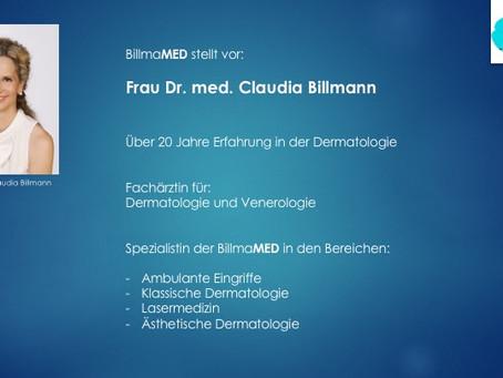 BillmaMED stellt Ihnen vor: Dr. med. Claudia Billmann