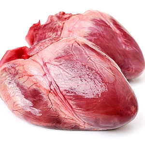 Pigs Hearts Pack of Two (approx. 650g – 750g)