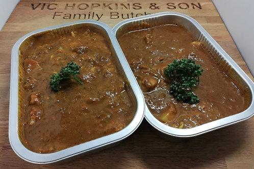 Garlic Bhoona Curry (Chicken, Beef, Lamb or Vegetable)