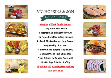 Meat For A Week Family Hamper