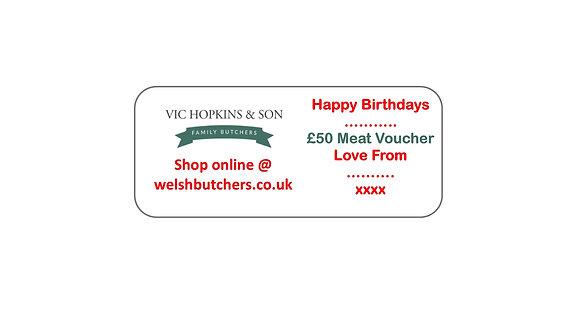 Vic Hopkins Gift Voucher