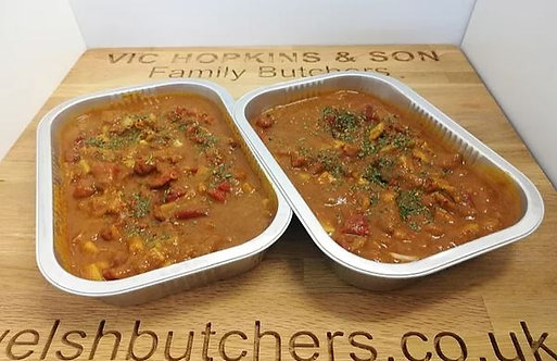 Vegetable Curries (choose your flavour)