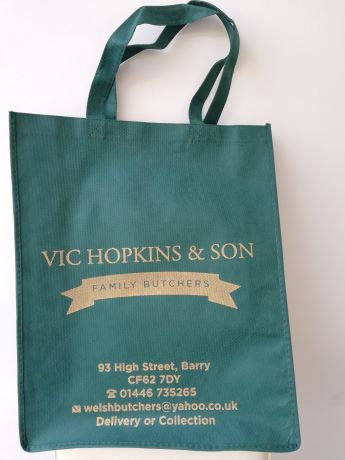 Vic Hopkins Carrier Bag (all money goes to the NHS)