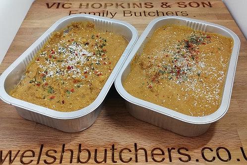 Mild Korma Curry (Chicken, Beef, Lamb or Vegetable)