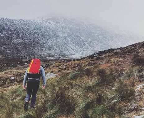 A walk up Bearnagh