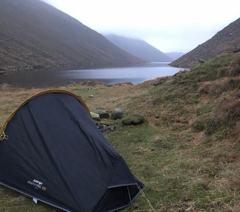 Camping at Ben Crom