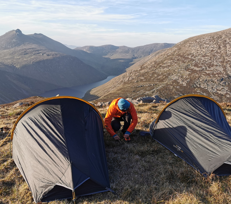 Taking camp down