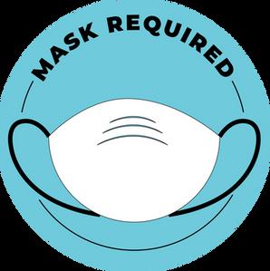 Mask Required Sticker