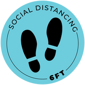 Social Distancing - 6 ft