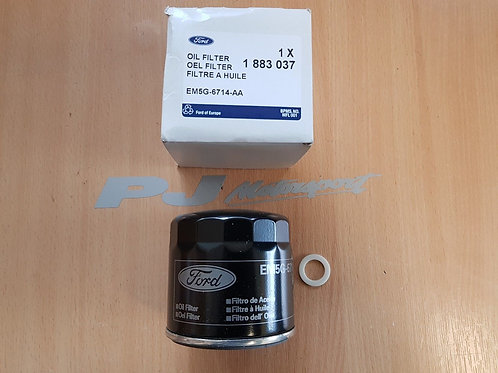 ESCORT RS TURBO FIESTA RS TURBO OIL FILTER GENUINE FORD WITH SUMP PLUG WASHER