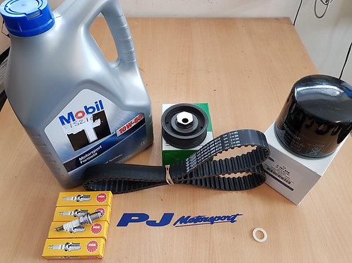 COSWORTH SERVICE KIT 4WD MOBIL 1 MOTORSPORT FORD OIL FILTER NGK PLUGS GRP A BELT