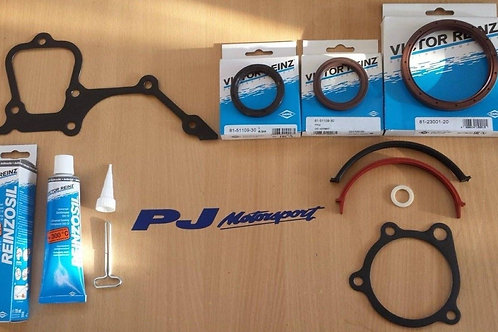 COSWORTH YB 4x4 BOTTOM END HIGH PERFORMANCE GASKET SET WITH VICTOR REINZ SEALS