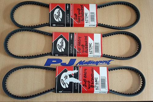 Gates Alternator & Power Steering Belt Set