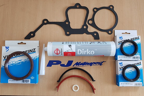 COSWORTH YB 4x4 BOTTOM END GASKET SET C/W VICTOR REINZ SEALS & ELRING SEALANT